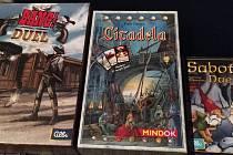 Karetní hry Bang! Duel, Citadela a Sabotér Duel.