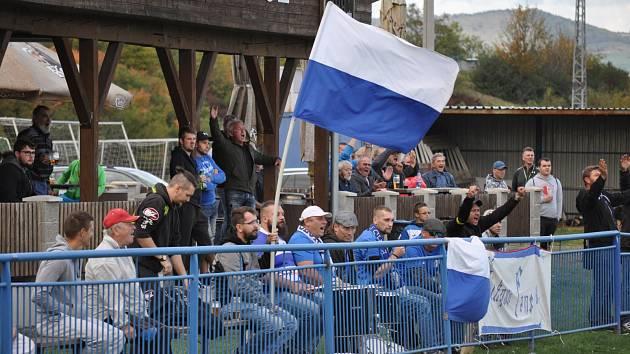 SPOKOJENOST. Fanoušci fotbalistů Šluknova patří k nejlepším v celé soutěži. Jejich miláčkům se navíc daří, aktuálně drží totiž krásné třetí místo.