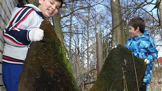 Děti v Rumburku se pustily do úklidu v sobotu ráno.