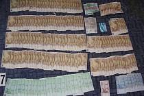 Zabavené drogy na Děčínsku