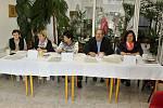 Volební komise v Děčíně - Bělé
