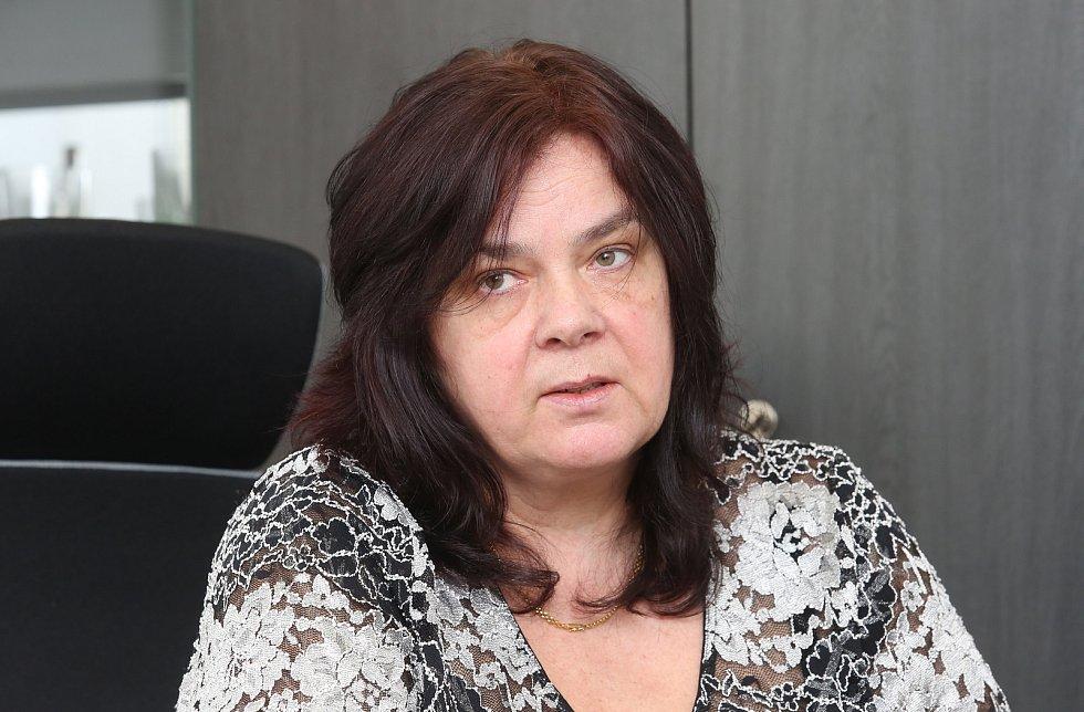 Ředitelka Krajské hygienické stanice v Ústí nad Labem Lenka Šimůnková.