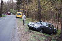 Dopravní nehoda na Šébru
