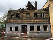 Historický dům v ulici Lipová v České Kamenici už nyní neexistuje.