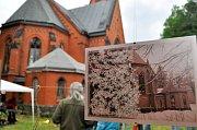 Červený kostel ve Varnsdorfu.