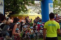 DUATLON PRO DĚTI přilákal přes dvě stovky malých závodníků.