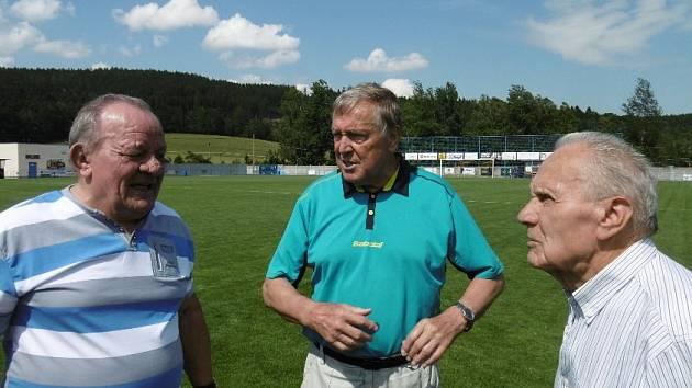 PODAŘILO SE. Ve Vilémově se uskutečnilo 18. setkání bývalých funkcionářů a fotbalistů.