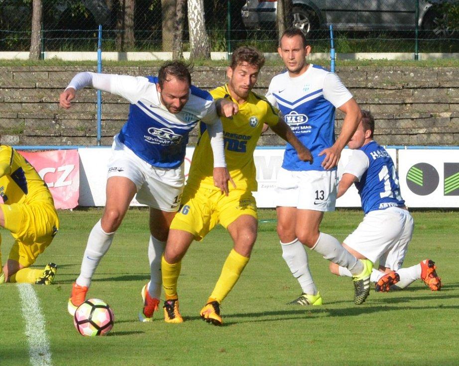 VARNSDORF prohrál na hřišti Táborska 0:1.