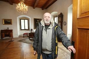Kastelán Státního zámku Benešov nad Ploučnicí Zdeněk Henig.
