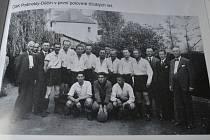 Několik snímku děčínské kopané do roku 1938.