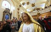 Zdevastovaný kostel v Markvarticích se podařilo zachránit.