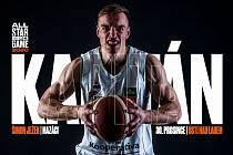 Šimon Ježek. Děčínský basketbalista bude kapitánem Mazáků.