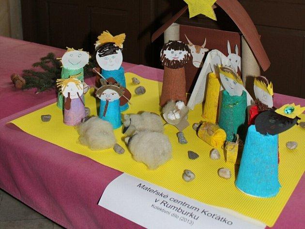 Výstavu dětských betlémů v Loretě Rumburk si nenechte ujít.