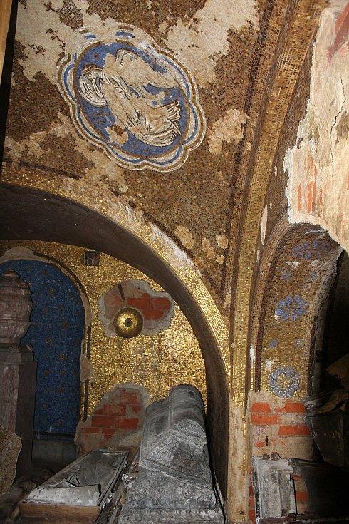 Hrobka rodiny Dittrich v Krásné Lípě.