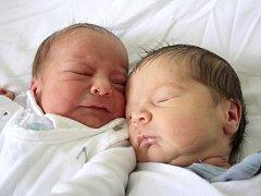 Sebastián a Oliver Dzurkovi se narodili Simoně Dzurkové z Děčína 31. července v děčínské porodnici. Sebastián (21.15) měřil 47 cm a vážil 2,8 kg, Oliver (21.16) měřil 47 cm a vážil 2,78 kg.
