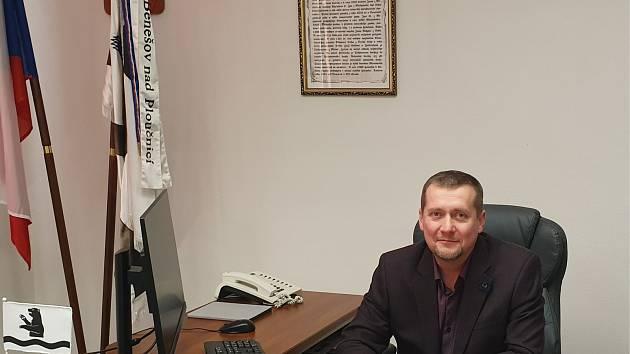 Starosta Benešova nad Ploučnicí Pavel Urx.