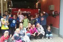 Akce hasičů v Krásně Lípě.