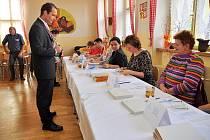 Volby 2012 - Lukáš Kohout ve Varnsdorfu.