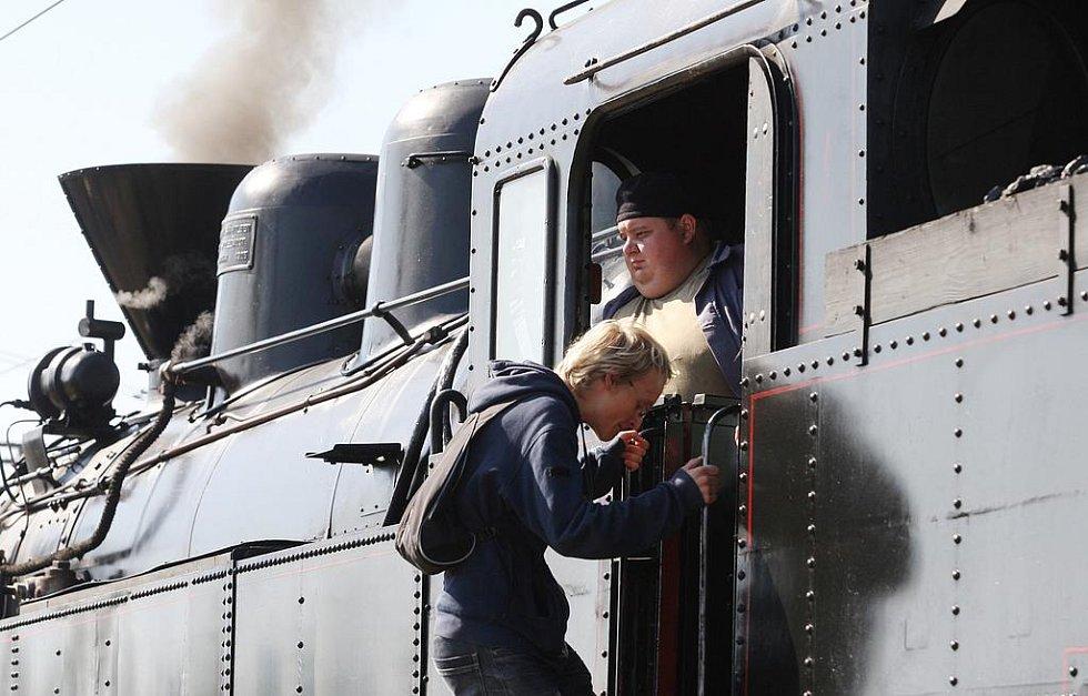 Oslavy Dne železnice v Děčíně