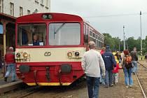 Na tisícovku Čechů a Němců přišlo podpořit znovuobnovení železniční trati z Dolní Poustevny do Bad Schandau a Děčína.