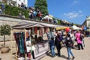 Historický trh májový 2019 na děčínském zámku