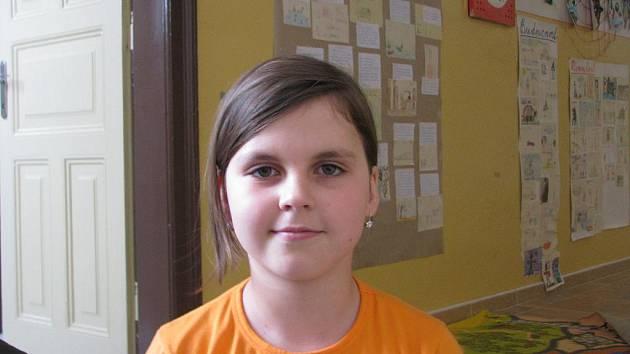 Jindřiška Jahodová, 8 let: Od kamarádky vím ,že je to svátek proto, že skončila druhá světová válka.