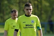 Martin Mach - dlouholetá opora fotbalistů České Kamenice.