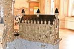 Na děčínském zámku vystavují hrady a zámky složeno z kostiček Lega.