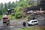 Na Tokáni v sobotu pracovali vyšetřovatelé hasičů i policie.