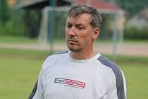 Zdeněk Štol, trenér fotbalistů SK Dobkovice.