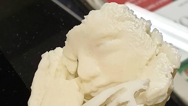 V děčínské porodnici jako první v Česku tisknou 3D modely nenarozených miminek.