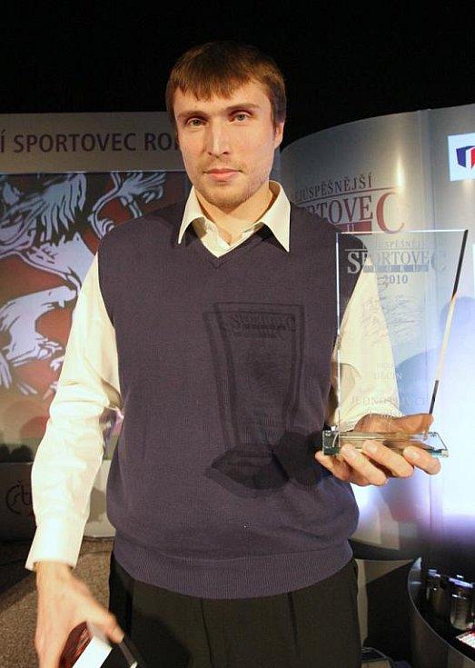 Nejúspěšnějším sportovcem Děčínska za rok 2010 se stal Pavel Houška
