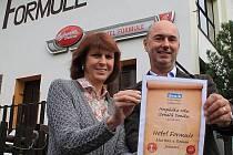 Hotel Formule se v roce 2013 stal Hospůdkou roku čtenářů Deníku.