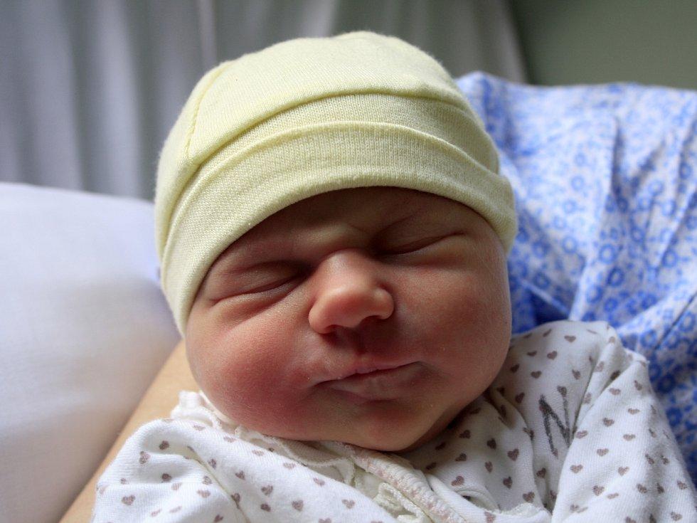 Stelinka Gažiová se narodila Barboře Makalové z Děčína 7. prosince v 8.26 v děčínské porodnici. Vážila 3,01 kg.