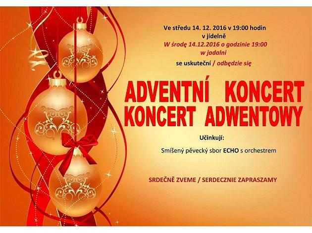 Pozvánka na adventní koncert