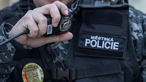 Zásah brněnských strážníků proti zloději.
