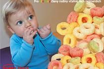 Kroužek z čisté rýže jen s přídavkem sladu – bezpečné první kousání  i hračka pro nejmenší děti.