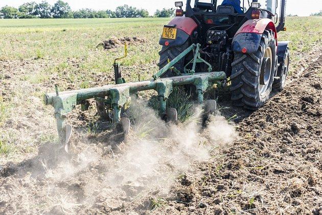 Zemědělec - farmář - orba