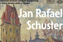 Nová galerijní expozice v Jihočeském muzeu představí nahlédnutí do rozsáhlé tvorby známého výtvarníka Jana Rafaela Schustera v cyklu výstav jihočeských autorů.