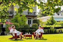 Baden-Baden, odpočinek v zahradě