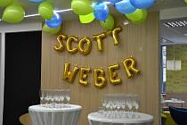 Slavnostní otevření kanceláře Scott & Weber