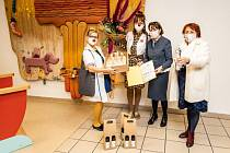 Zástupkyním organizace Zdravotní klaun předaly Křišťálový kamínek 2020 Olga Rosenbergerová (ředitelka Asociace TRIGON) a Eva Sroková (členka správní rady Asociace TRIGON).