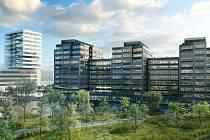 Zeleň, design, důraz na trvale udržitelný rozvoj - klíčové vlastnosti kancelářského projektu CTP Vlněna v Brně.