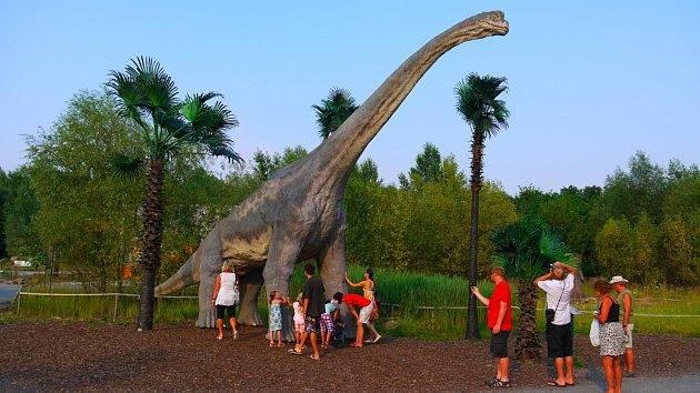DinoPark Ostrava ročně navštíví 300tisíc lidí.