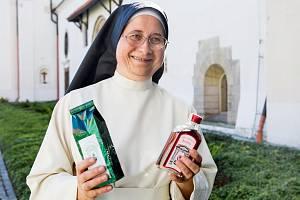 Sestra Alberta z kláštera premonstrátek v Doksanech