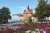 Město Sedlčany.