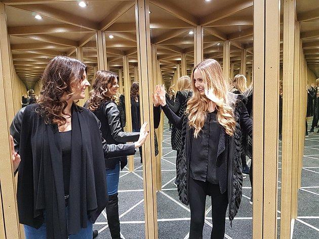 zrcadlový labyrint Martina Alena