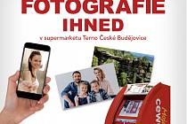 Také v supermarketu Terno České Budějovice si nyní můžete na počkání vytisknout fotografie různých formátů.