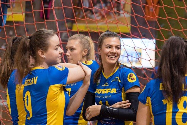 Fosfa bude další 4 roky hlavním partnerem dívčího a chlapeckého volejbalového oddílu v Břeclavi