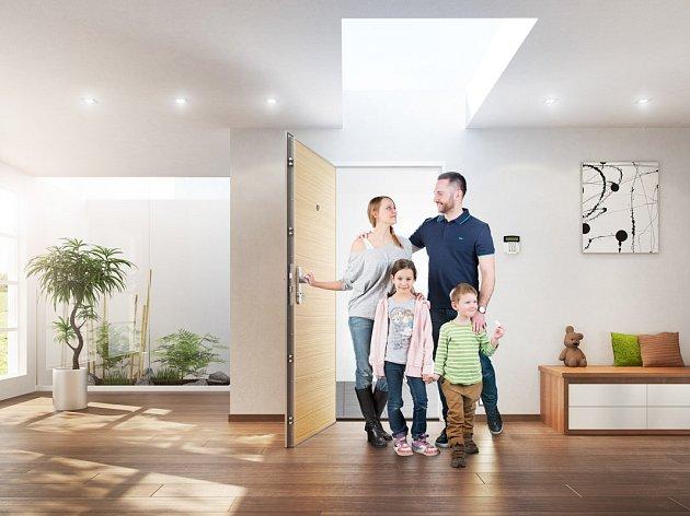 NEXT SD 111 –  nejbezpečnější certifikované vchodové dveře do bytu